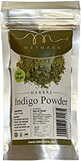 Mesmara Indigo powder For Hair and Beard Dye 100 gm