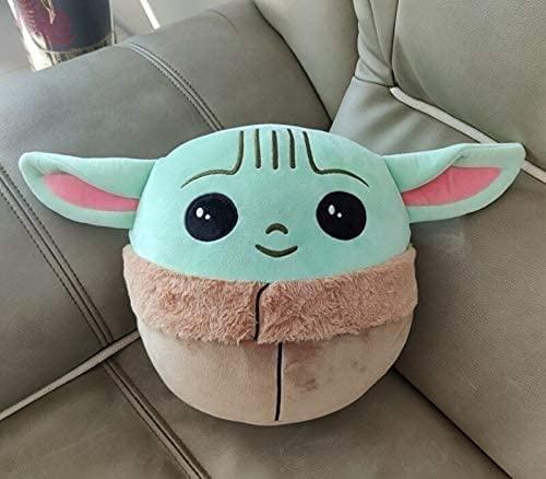 LIUZIZHPY 13/26CM Baby Yoda Plush,The Child Mandalorian,Baby Yoda Toy Baby Yoda The Child Star Wars Baby Yoda Collection Decoration Plush Toys (26cm)
