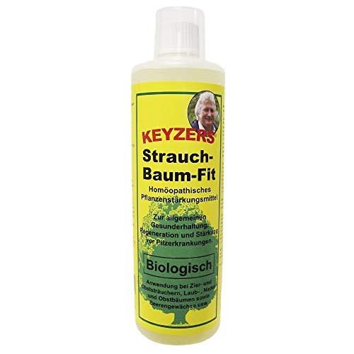 Keyzers Strauch-Baum-Fit 500ml mit Messbecher - Zur Pflege, Kräftigung und Pflanzenstärkung gegenüber Schadorganismen und gegen Pilzbefall