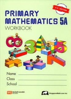 Primary Mathematics 5a: Us Edition PMUSW5A (Primary Mathematics Us Edition)