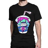 JIANGMUYA Men's Slushii Logo T-Shirt XX-Large