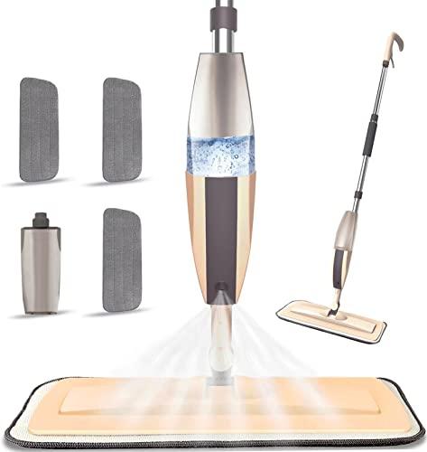 Beyoco Microfiber Spray Mop For Floor Cleaning
