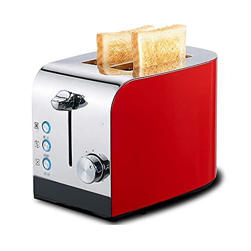 N&O Máquina para Hornear Pan tostadora eléctrica tostadora para el Desayuno automática...
