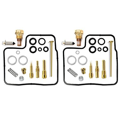 For Honda Shadow 700 750 1100 VT700C VT750C VT1100C Carburetor Carb Rebuild Repair Kit, 2-Set