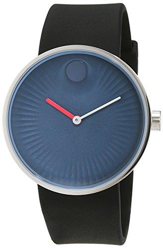 Movado Heren Analoog Klassiek Quartz Horloge met Rubber Band 3680004