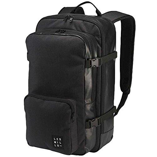 Reebok Jungen LM U Backpack Rucksack, Schwarz (Negro), 45 x 24 x 15 cm