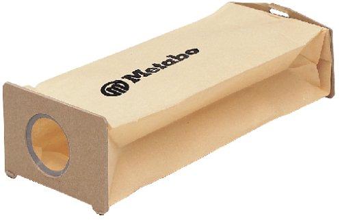 Metabo Ersatz Staubbeutel (5 Stück, für Sander, Multischleifer + Exzenterschleifer, ohne Staubbeutelhalter) 631288000