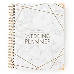 top rated Marble Gold Wedding Planner-Dateless Wedding Diary Organizer-Hardcovers, Bags, … 2021