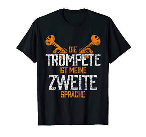 Trompetenspieler Geschenk Trompeter Orchester Musik Trompete T-Shirt