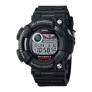 """[カシオ] 腕時計 ジーショック ダイバーズウォッチ FROGMAN 電波ソーラー GWF-1000-1JF ブラック"""""""