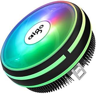 Fans & Cooling - darkflash Aigo CPU Cooler Radiator Led Heat Sink AMD Intel Silent 3Pin PC CPU Cooling Cooler Heatsink Fan...