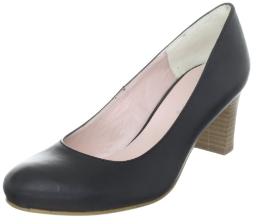 comma Damen Carly Pumps, Schwarz (Schwarz 100), 38 EU