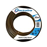 electroline 10714 - Cable 03Vh-H, 2x0.75 mm, 20 Mt.