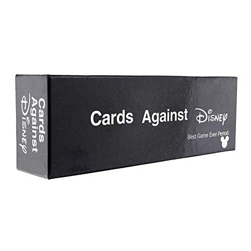 Cards Against Humanity Edizione Disney - Incohearent Giochi da Tavolo Adulti - Espansione Crazy Game Card Game Toy - Regali per Gli Amici Uomini Donne Giochi di società,Nero