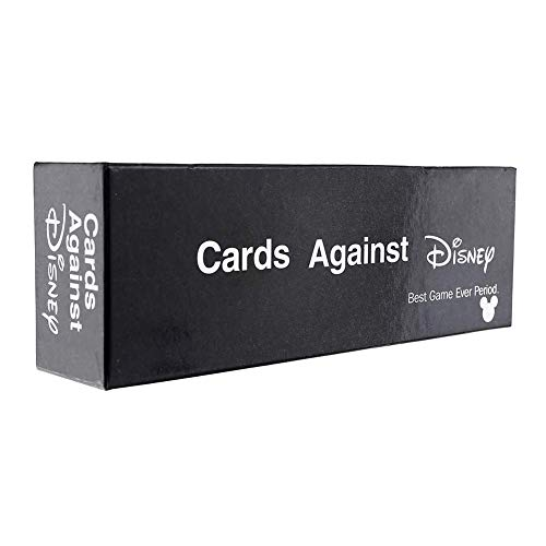 Cards Against Humanity Disney Edition - Incohearent Board Games Adult - Expansion Crazy Party Card Game Toy - Regalos para Amigos Hombres Mujeres Juegos de Fiesta,Negro