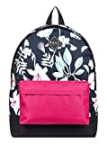 Roxy Sugar Baby Fitness 16l-Mochila Mediana, Mujer, True Black Story of Sunshine, 1SZ