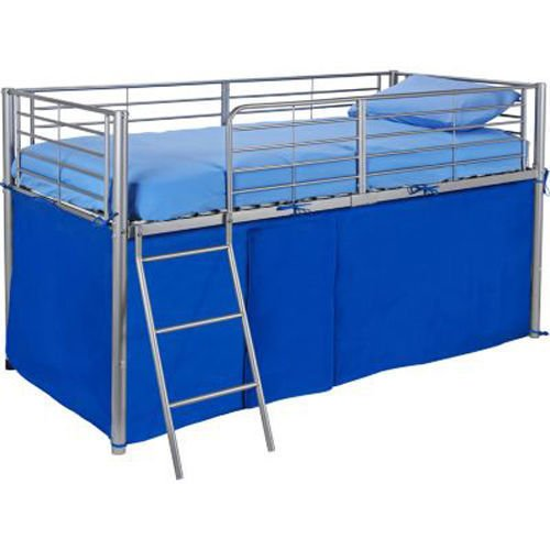 HLS Blue Tent For Mid Sleeper Bed Boys Bedroom Toys Games Storage