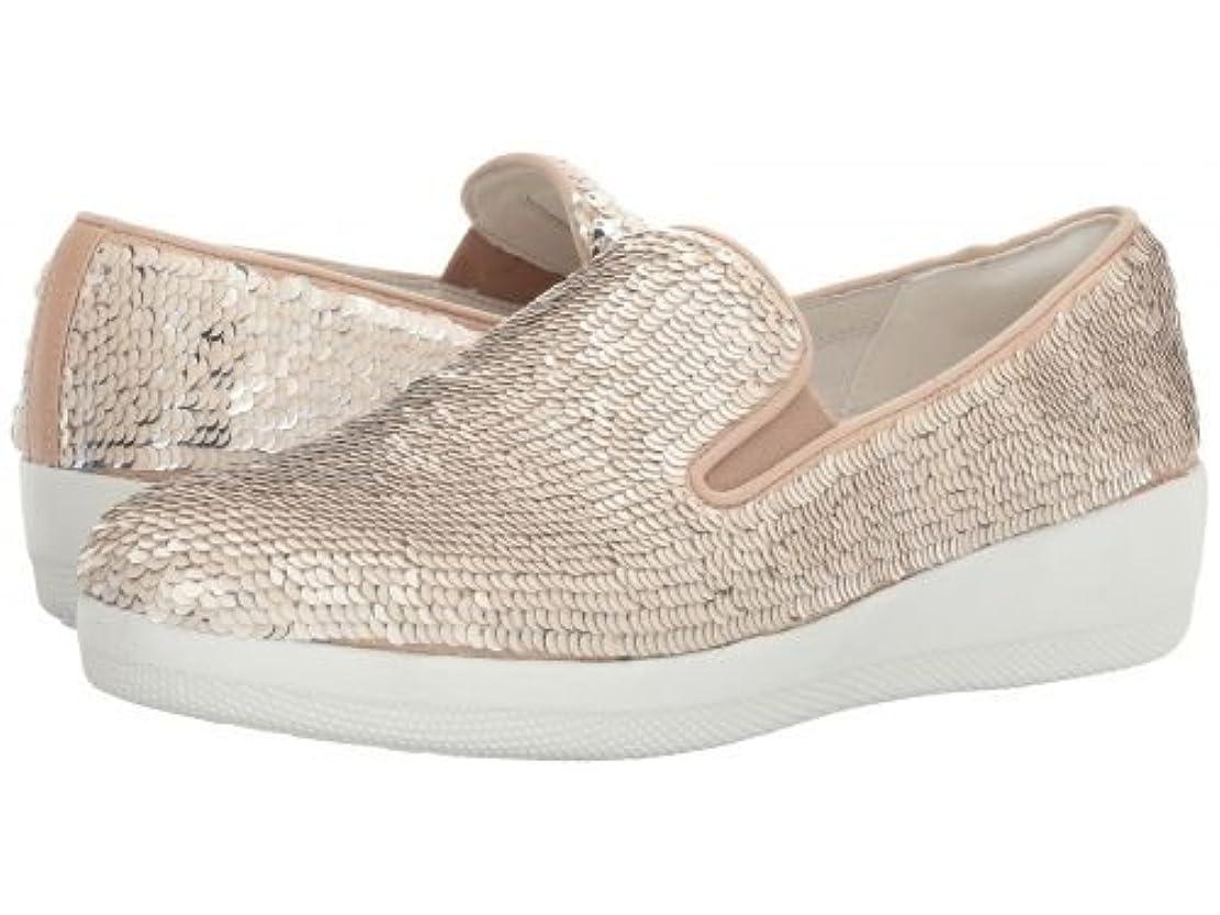 控える敬意範囲FitFlop(フィットフロップ) レディース 女性用 シューズ 靴 スニーカー 運動靴 Superskate w/ Sequins - Cream [並行輸入品]