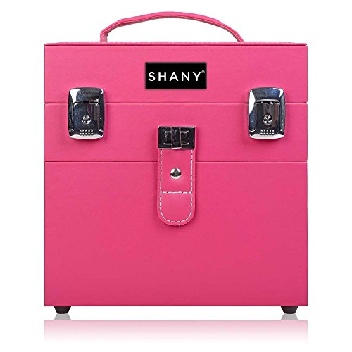 SHANY Color Matters - Nail Accessories Organizer and Makeup Train Case - Sugar Gum