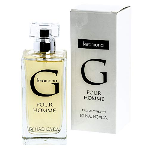 Nacho Vidal - Perfume Hombre - G-Feromona Pour Homme By Nacho Vidal - 100 ml - Perfume para Hombre con Feromonas - Fragancia Única - Made in Spain