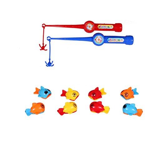 Toymytoy Badespielzeug, Fischerei, Mini-Angelset, Badewanne, Spielzeug, Geschenk mit Angelruten für Babys und Kinder
