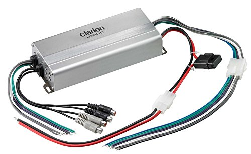 Clarion XC2410 400W Peak Ultra Compact 4/3/2 Channel XC Series Micro Class D Marine Amplifier