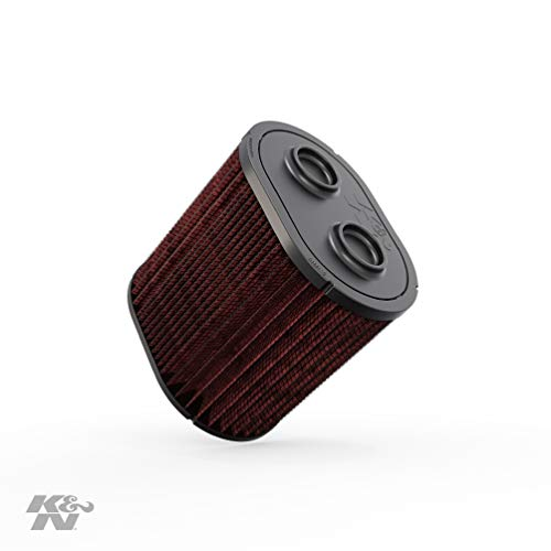 K&N Engine Air Filter: High Performance, Premium, Washable, Replacement Filter: 2017-2019 Ford Truck Super Duty V8 (F250, F350, F450, F550), E-0644