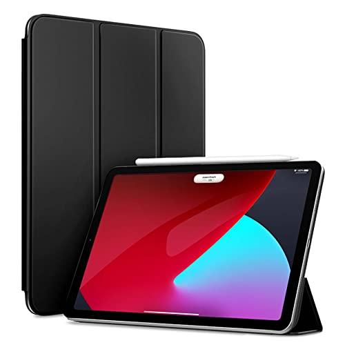 DIANXIA Funda Protectora Magnética para 2021 iPad Mini 6 Funda De 8,3 Pulgadas con Carga De Lápiz/Soporte Plegable Delgado/Soporta Touch ID, Compatible con La Nueva Funda De iPad Mini De 6ª,Negro