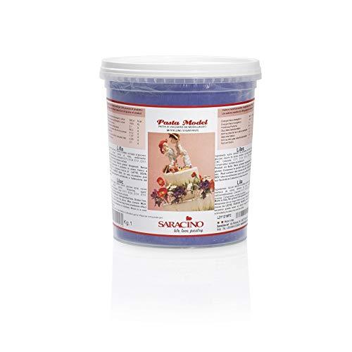 Saracino Modellierpaste Modellierfondant - Lila 1 kg Eimer