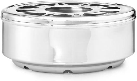 Limited price sale bredemeijer Ceylon Tea Warmer safety Stainless Glossy Steel Finish