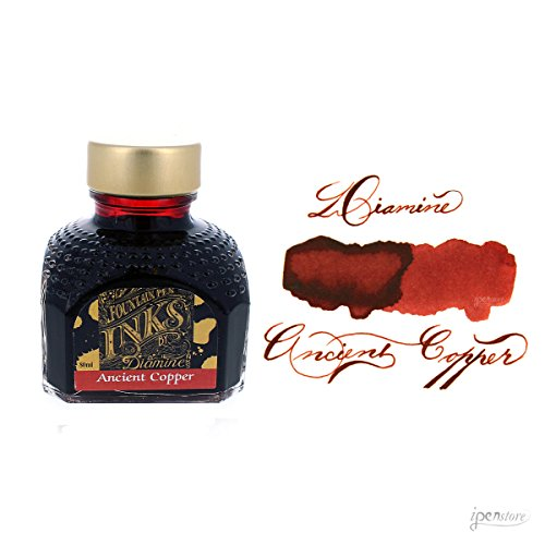 Diamine - Tinta para estilográfia, Ancient Copper 80ml