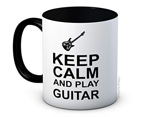 Keep Calm and Play Guitar - Taza de Café de Cerámica