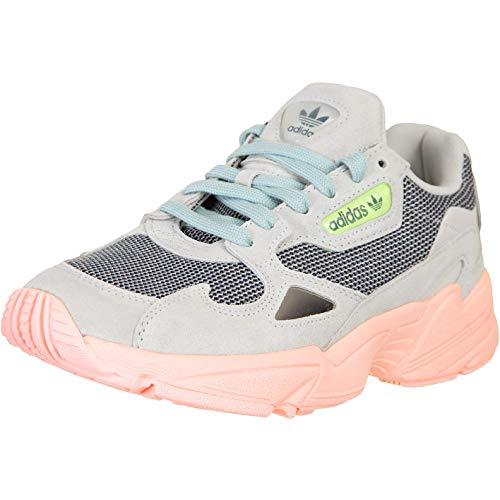 adidas Falcon - Zapatillas deportivas para mujer, color Gris, talla 38 EU