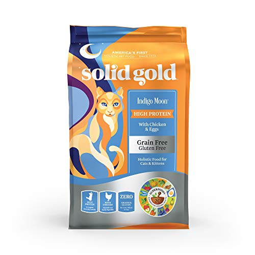 Solid Gold - Indigo Moon with All Natural Chicken & Egg  - Grain Free & Gluten Free - High Protein...