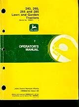 Best john deere 240 lawn tractor manual Reviews