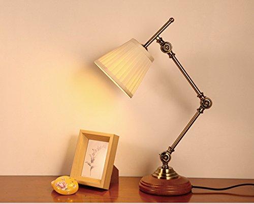 Style nordique minimaliste de style moderne lampe de chevet créative mode solide bois chambre étude lampe de table décorative