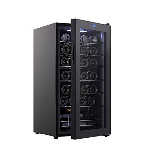 Enfriador de Vino - Refrigerador de Vino sin Escarcha para Botellas - 8-18 ° ℃ Enfriador de Vino portátil con Control de Temperatura preciso - 17W × 18D × 33H Pulgadas