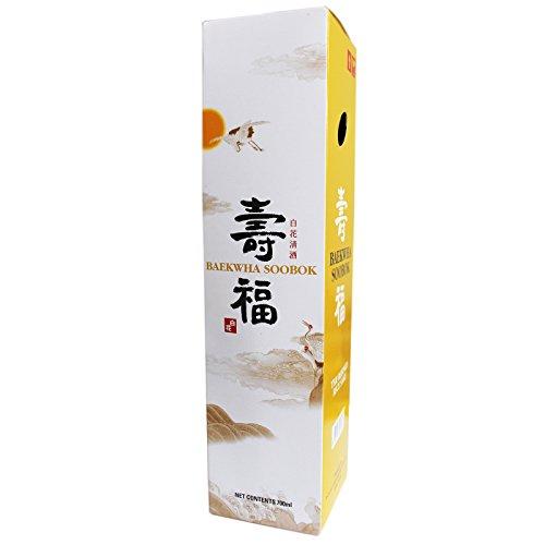 Baekwha Soobok Reiswein Sake 14,5% vol. 700ml