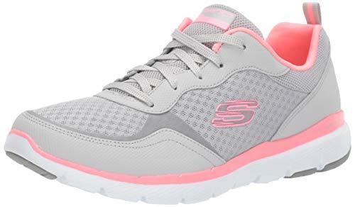 Skechers Damen Flex Appeal 3.0-go Forward Sneaker, Pink, 38 EU
