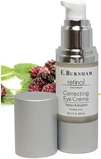 Retinol Correcting Eye Créme 1 Oz. - Anti-Aging Facial Moisturizer Cream - Reduce Wrinkles & Fine Lines