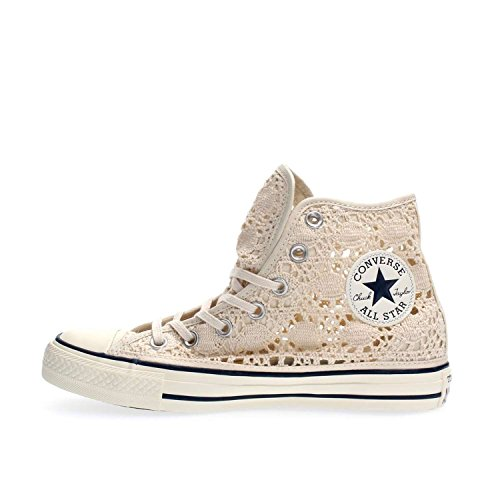 Converse Chuck Taylor Hi Crochet Damen, Canvas, Sneaker High, 36.5 EU
