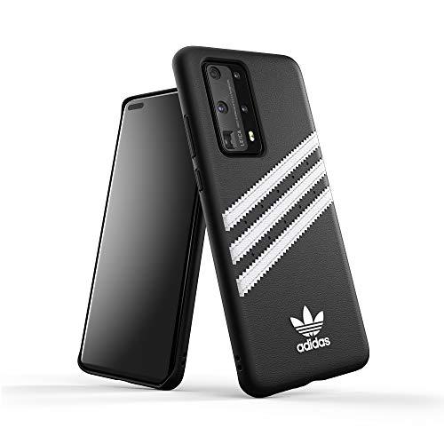 adidas Originals Designed für Huawei P40 Pro Hülle DREI Streifen Schutzhülle - Schwarz