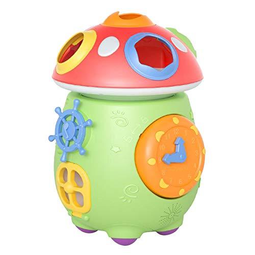 #N/a Juguete Musical electrónico multifuncional divertido carrito de setas actividad cubo luces clasificación de sonidos a juego juguetes educativos de