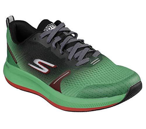 Skechers Go Run - Zapatillas de correr y caminar para hombre, Verde (Verde/Negro), 41 EU