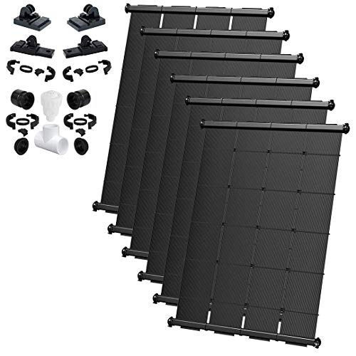 %22 OFF! SOLARPOOLSUPPLY Industrial Grade DIY Solar Pool Heating System Kit - Lifetime Limited Warra...