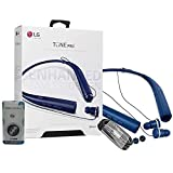 LG Tone Pro HBS-780 Matte Blue Bluetooth Wireless Stereo Headset with Phone Griper Stand (Retail...