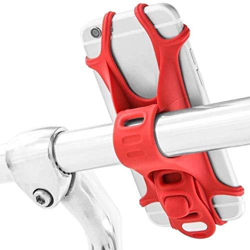 XinYiC Soporte universal para teléfono de bicicleta para manillar de bicicleta para cualquier teléfono móvil de 4 a 6 pulgadas Android Smartphone