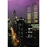 Buyartforless Purple Skies - New York City Skyline by