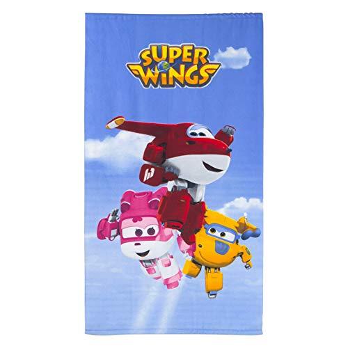 Super Wings Toalla Microfibra 60 x 120 cm Grupo Cielo