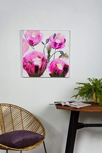 Mendola Art da 218ope3038a Dipinto a Mano Roses, 60x 60cm